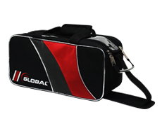 2-BALL TOTE-BLACK/RED